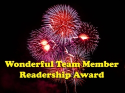 Wonderful Member Readership Award